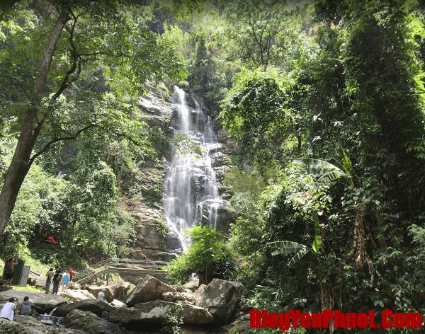 Kinh nghiệm du lịch vườn quốc gia Pù Mát. Địa điểm tham quan hấp dẫn ở vườn quốc gia Pù Mát. Thác Khe Kèm