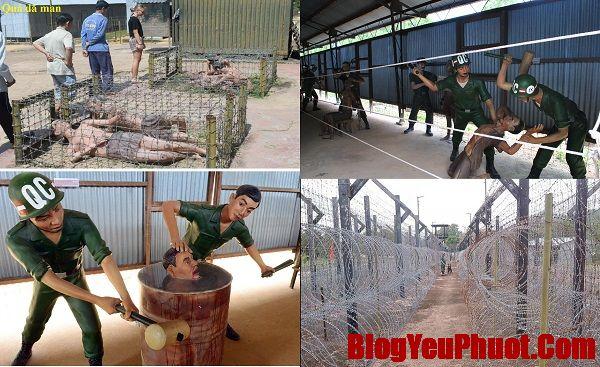 Kinh nghiệm phượt Phú Quốc. Địa điểm du lịch nổi tiếng ở đảo Phú Quốc. Nhà tù Phú Quốc