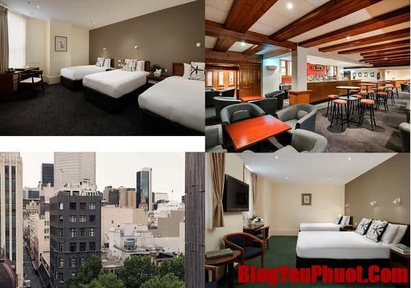 Nên ở khách sạn nào Melbourne? Khách sạn 3 sao đẹp, giá bình dân ở Melbourne. The Victoria Hotel