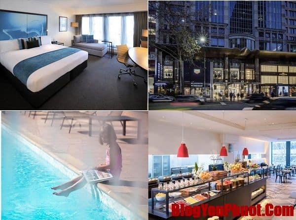 Review danh sách các khách sạn ở Melbourne tốt nhất. Nên ở khách sạn nào Melbourne? Novotel Melbourne On Collins Hotel