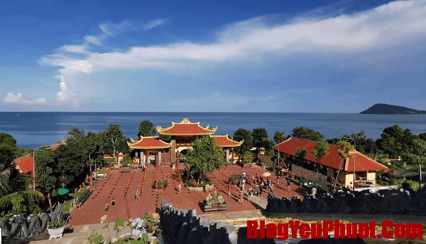 Review du lịch đảo Phú Quốc: Thiền viện Trúc Lâm - chùa Hộ Quốc. Nên đi dâu chơi khi du lịch đảo Phú Quốc?