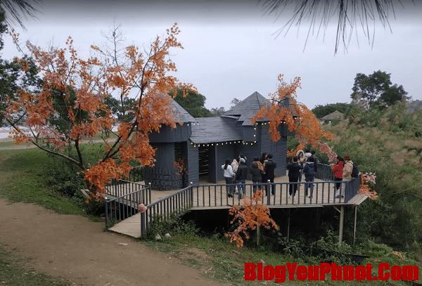 Review vườn hoa bãi đá Sông Hồng giá vé, cảnh đẹp. Chụp ảnh tại góc Hàn Quốc ở vườn hoa bãi đá Sông Hồng