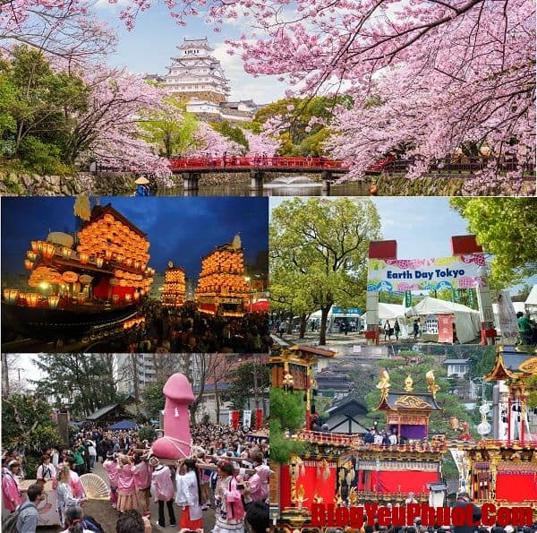 Du lịch Nhật Bản tháng 4 review chi tiết, có lễ hội gì, nên đi đâu chơi?