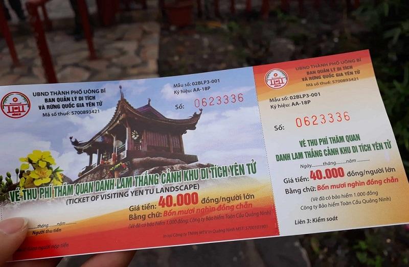 Vé tham quan Tây Yên Tử Bắc Giang