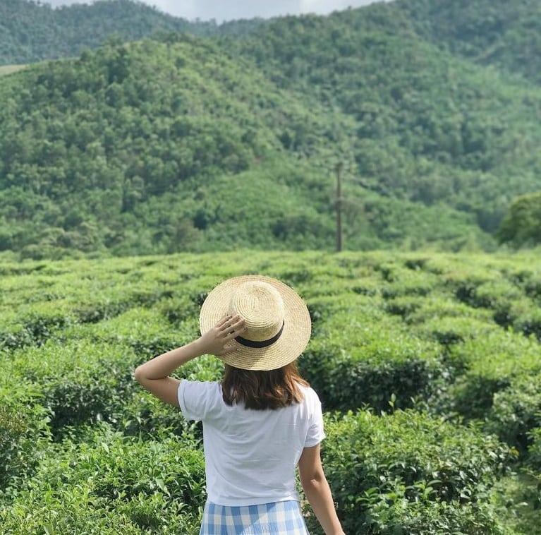Phượt đồi chè Đông Giang