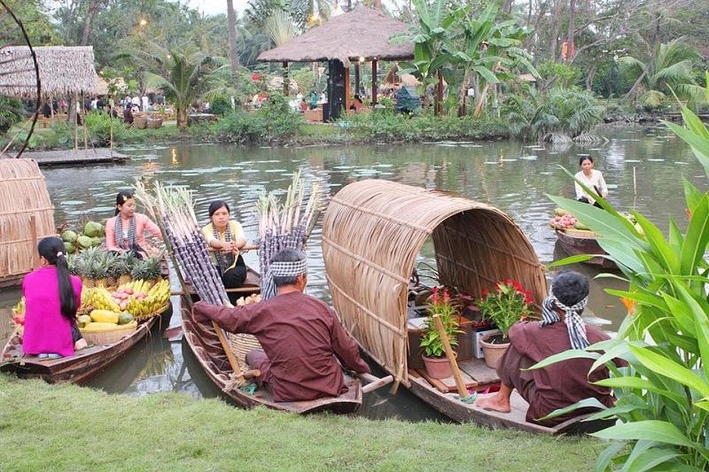 Khu du lịch được yêu thích ở Sài Gòn trung thu