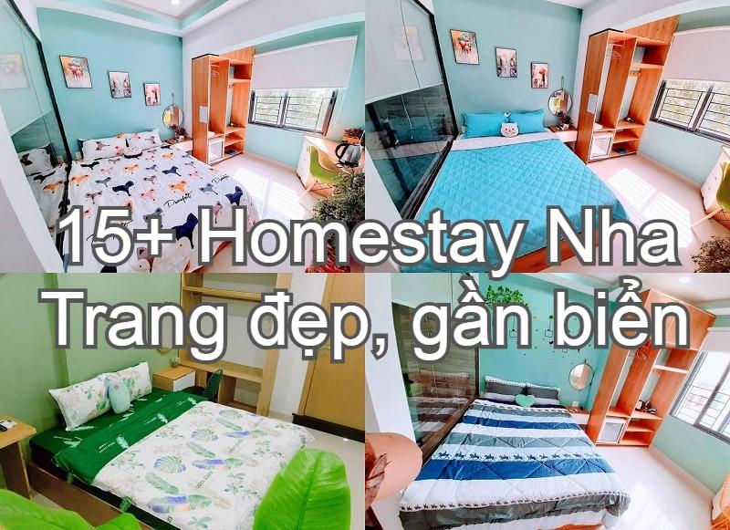 Homestay Nha Trang giá rẻ, gần biển, đẹp nhất. Nha Trang có homestay nào đẹp, sạch sẽ, tiện nghi?