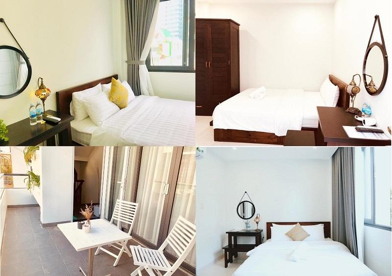 Homestay gần biển Nha Trang đẹp, giá rẻ. Nên ở homestay nào Nha Trang? Moonlight House