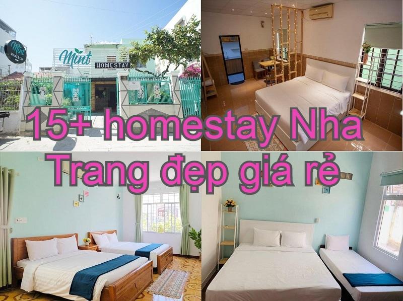 Nên ở homestay nào Nha Trang đẹp, giá rẻ, gần biển? Mint Homestay
