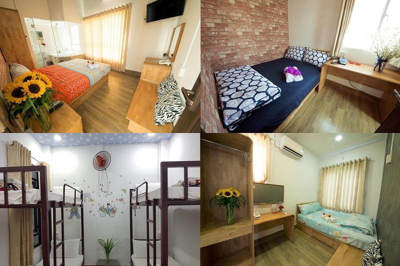 Nha có homestay nào đẹp, tiện nghi, giá rẻ. Review các homestay gần biển ở Nha Trang. Ana House Homestay