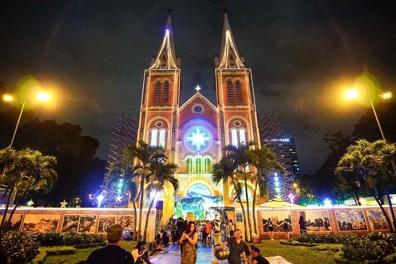 Những địa điểm đón Noel ở Sài Gòn