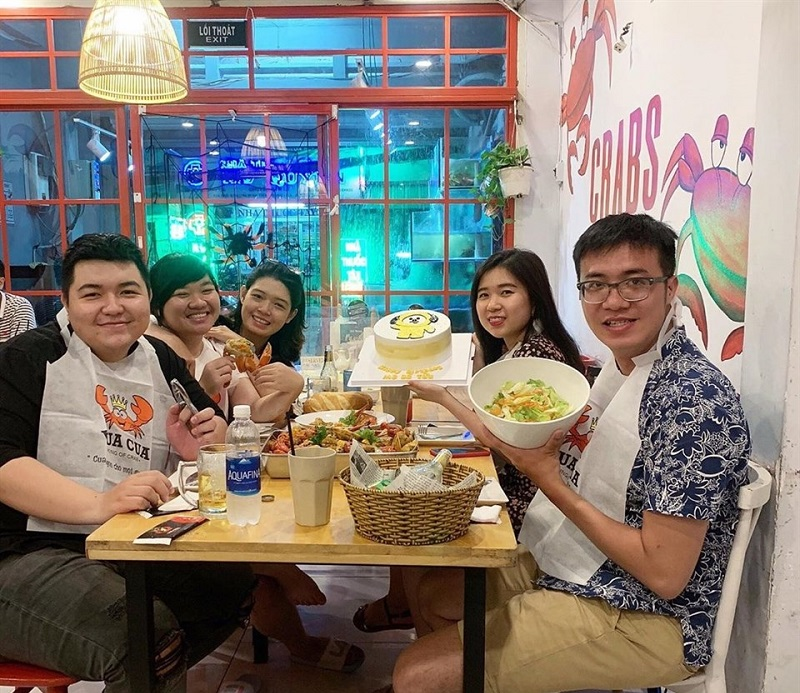 Quán ăn ngon Sài Gòn Quận 7 - Nhà hàng Tân Hoa Cau